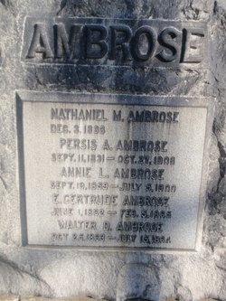 Nathaniel Merrill Ambrose