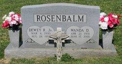 Dewey R Rosenbalm, Jr