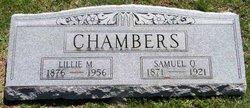 Lillie May <i>McCord</i> Chambers