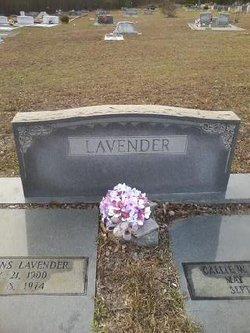 Callie Irene <i>Wood</i> Lavender