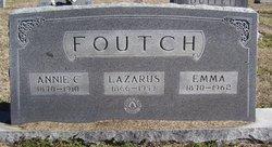 Annie C. <i>Thedford</i> Foutch