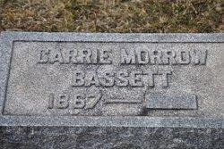 Carrie <i>Morrow</i> Bassett