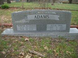 Julia Opal <i>Basham</i> Adams