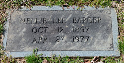 Nellie <i>Lee</i> Barger