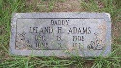 Leland Holder Adams