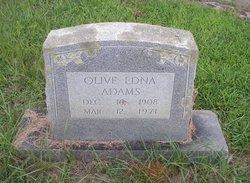 Olive Edna Adams