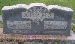 Mittie E <i>Harmon</i> Adams