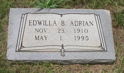 Edwilla B. <i>Worley</i> Adrian