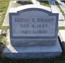 Sarah Elizabeth <i>Ayers</i> Bright