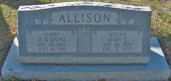 Mary Esta <i>Jones</i> Allison