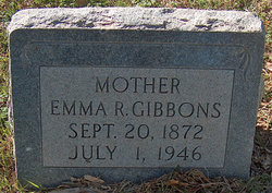 Emma Rebecca <i>Jones</i> Gibbons