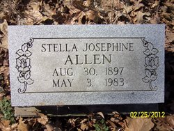 Stella Josephine <i>Schofield</i> Allen