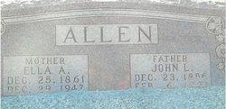 Ella Alice <i>Childers</i> Allen