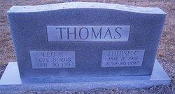 Mrs Louise <i>Cole</i> Thomas
