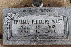 Thelma <i>Phillips</i> West