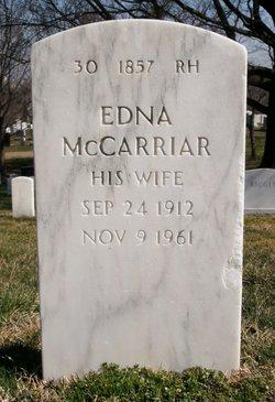 Edna Lee <i>McCarriar</i> Jones