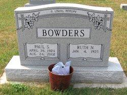 Ruth N. <i>Fox</i> Bowders
