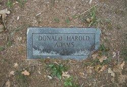 Donald Harold Adams