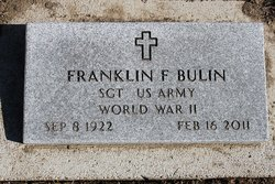 Franklin Frederick Bulin