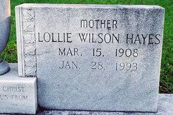 Lollie Mae <i>Wilson</i> Hayes