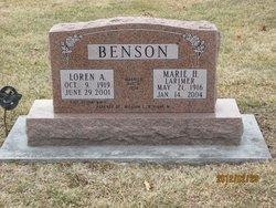 Marie H. <i>Larimer</i> Benson