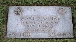 PFC Martin O. May