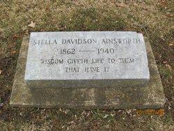 Stella <i>Davidson</i> Ainsworth