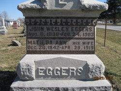 Matilda Ann <i>Sutherlin</i> Eggers