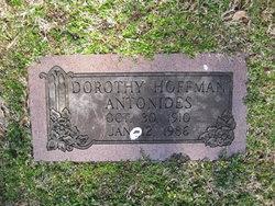 Dorothy <i>Hoffman</i> Antonides