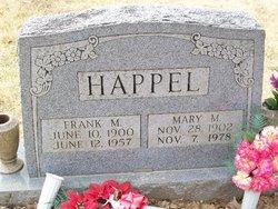 Mary M. <i>Hatcher</i> Happel Benton