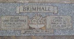 Claud Swapp Brimhall