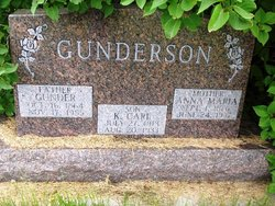 Anna Maria <i>Carlson</i> Gunderson