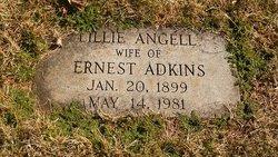 Lillie <i>Angell</i> Adkins