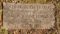 Myrtle <i>Hurst</i> Francis