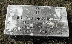Billy J McCurdy