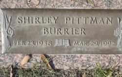 Shirley <i>Pittman</i> Burrier