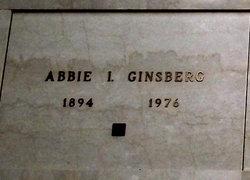 Abbie I Ginsberg