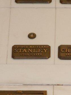 George Maitland Stanley