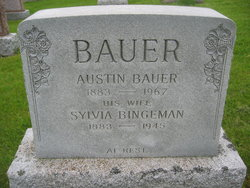 Sylvia <i>Bingaman</i> Bauer