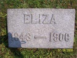Eliza <i>Holt</i> Cheeseman