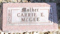Carrie Elvia <i>Miller</i> McGee