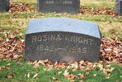 Rosina <i>Keener</i> Knight