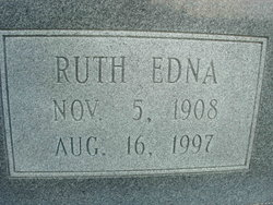 Ruth Edna <i>Brown</i> Bell