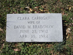 Clara <i>Carrigan</i> Bradshaw