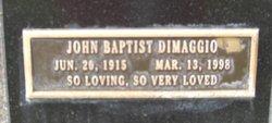 John Baptist Dimaggio