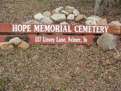 Hope McNairy County Memorial Cemetery
