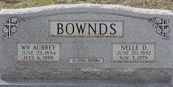 William Aubrey Bownds, Sr