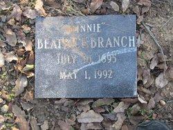 Beatrice Minnie <i>Riney</i> Branch