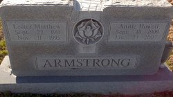 Annie <i>Howell</i> Armstrong