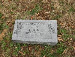 Clara Don <i>Rhew</i> Doom